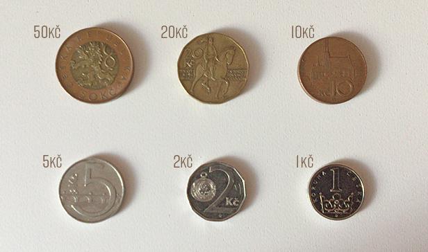 チェコの硬貨を一瞬で見分ける方...